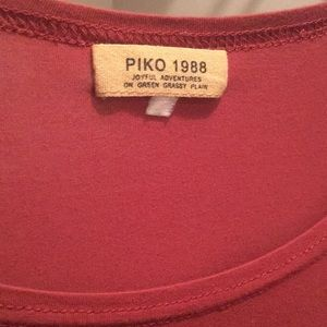 Piko top/ rust color